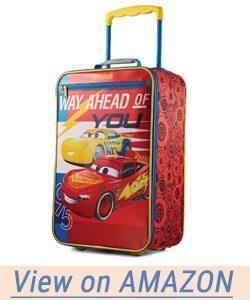 American Tourister Disney Softside Upright Cars