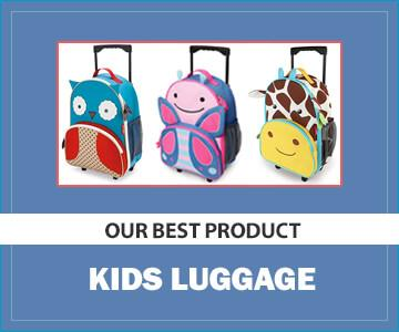 Skip Hop Kids Luggage with Wheels