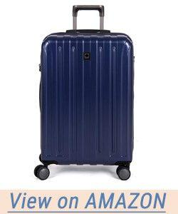 Delsey Helium Titanium 25 Inch Exp Spinner Trolley