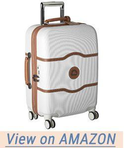 Delsey Luggage Chatelet Hard 21 inch Carry on 4 Wheel Spinner