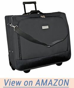 Geoffrey Beene Deluxe Rolling Garment Bag