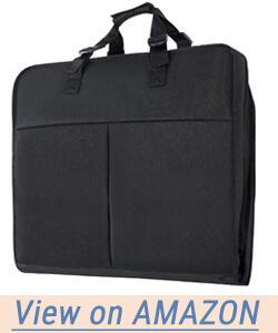 Magictodoor 40 Inch Garment Bag Extra Capacity Garment Bag