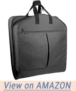 WallyBags Luggage Extra Capacity Garment Bag
