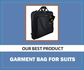 Zegur Suit Garment Bag: Best Organizational Garment Bag