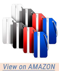 Aootech Aluminum Alloy Luggage Tag