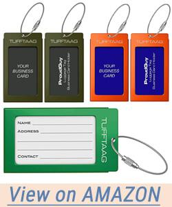 ProudGuy Luggage Tags Business Card Holder