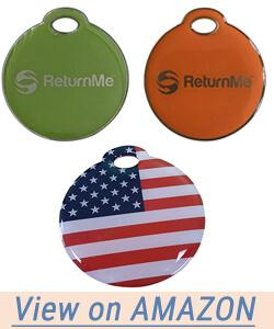 ReturnMe Smart Luggage ID Tags with Lifetime Global Recovery Service