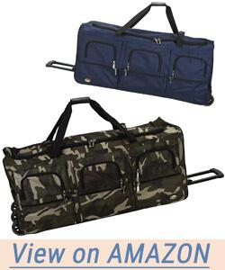 Rockland Luggage 40 Inch Rolling Duffle Bag