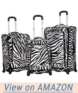 Rockland Luggage Fusion 3 Piece Set