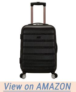 Rockland Luggage Melbourne 20 Inch Expandable Abs Carry On Luggage