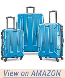 Samsonite Centric Expandable Hardside Luggage Set with Spinner Wheels