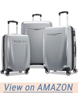 Samsonite Winfield 3 DLX Hardside Luggage Set with Spinner Wheels