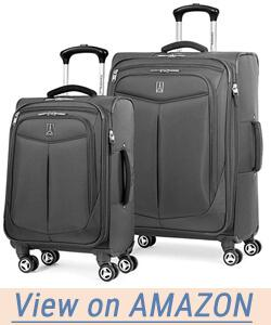 TravelPro Inflight 2 Piece, Expandable Spinner Suitcase Set