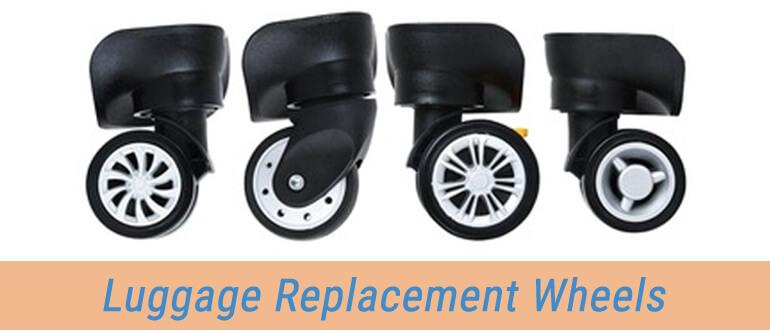 Inline And Spinner Replacement Wheels For All Possible Luggage