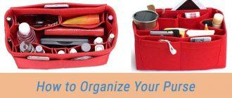 How to Organize Your Purse