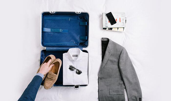 Pack a Suit in a Garment Bag