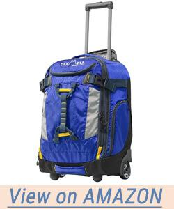 """Olympia Cascade 20"""" Outdoor Upright Carry-on W/Hideaway Backpack Straps"""