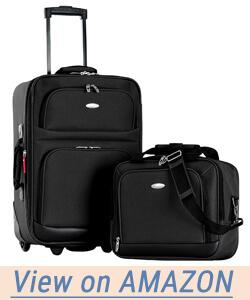 Olympia Let's Travel 2pc Carry-on Luggage Set
