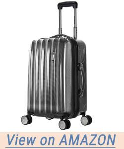 Olympia Luggage Titan 21 Inch Expandable Carry-On Hardside Spinner